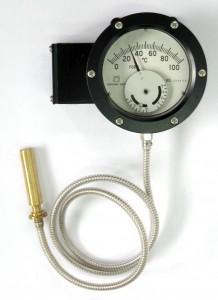 液体充満圧力式温度計